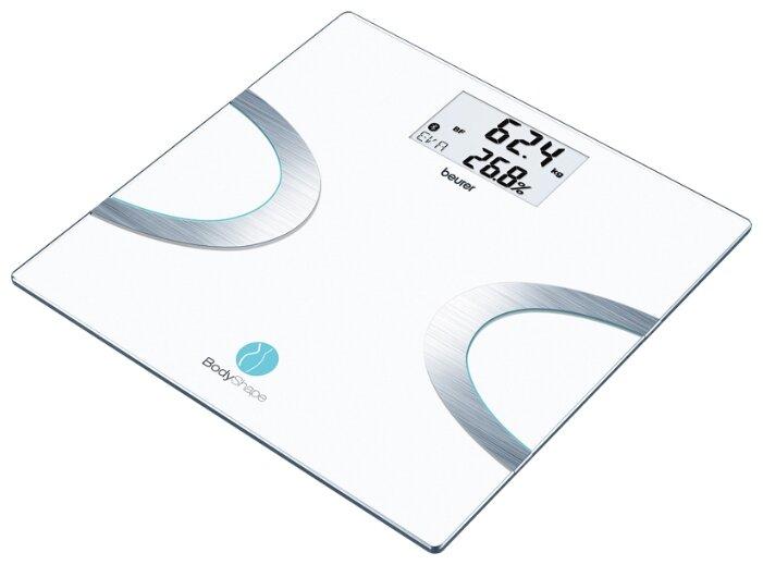 Электронные напольные весы Mercury, до 180 кг, черно-фиолетовые