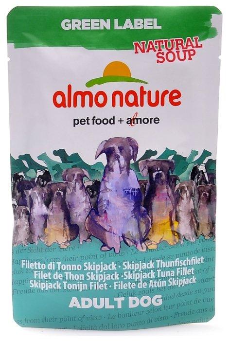 Корм для собак Almo Nature Green Label тунец 140г