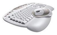 Клавиатура и мышь Logitech Cordless Desktop Navigator White USB+PS/2