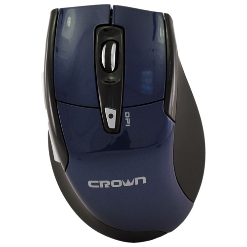 Мышь CROWN CMM-905W Blue USB
