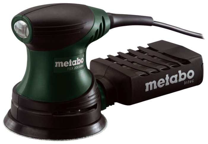 Эксцентриковая шлифмашина Metabo FSX 240 Intec