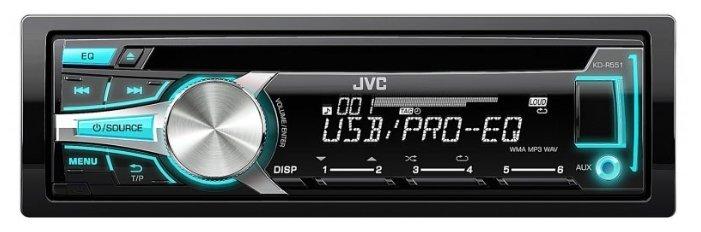 Автомагнитола JVC KD-R551E