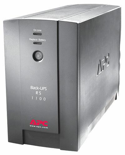 APC by Schneider Electric Back-UPS RS 1100VA 230V
