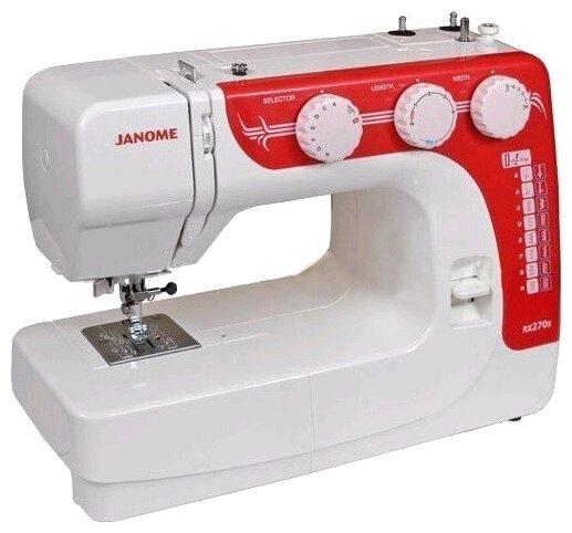 Швейная машина Janome RX-270S бело-красный
