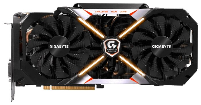 GIGABYTE GeForce GTX 1080 1784Mhz PCI-E 3.0 8192Mb 10400Mhz 256 bit DVI 3xHDMI HDCP Premium pack