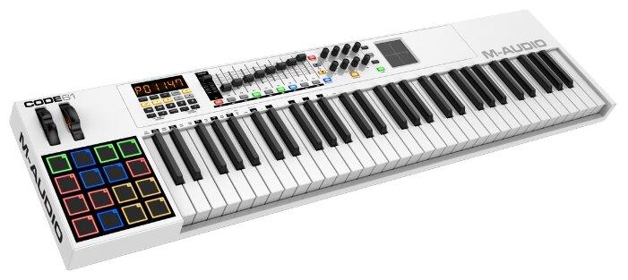 MIDI-клавиатура M-Audio Code 61 — купить и выбрать из более, чем 8 предложений по выгодной цене на Яндекс.Маркете