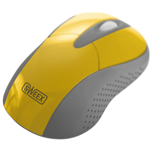 Мышь Sweex MI424 Wireless Mouse Mango Yellow USB