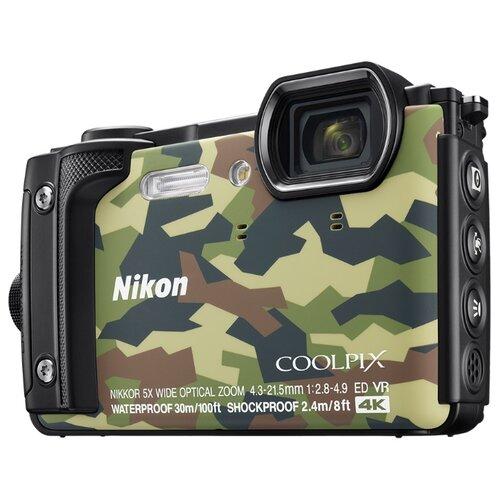 Фото - Фотоаппарат Nikon Coolpix W300 камуфляж фотоаппарат