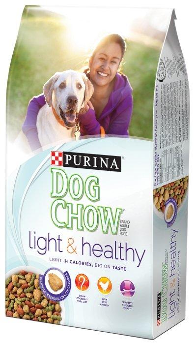 Корм для собак DOG CHOW Light & Healthy курица