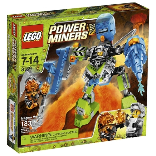 Конструктор LEGO Power Miners 8189 Магматический манипулятор