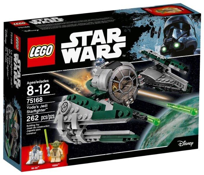 Классический конструктор LEGO Звёздные войны 75168 Звёздный истребитель Йоды