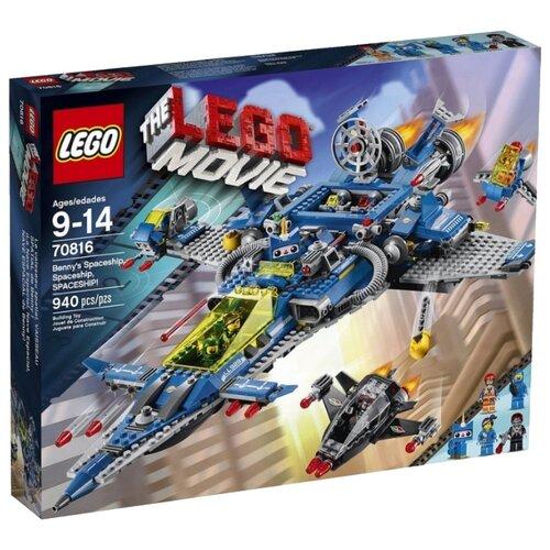 Конструктор LEGO The LEGO Movie 70816 Космический корабль Бенни