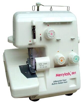 Оверлок Merrylock 001 белый