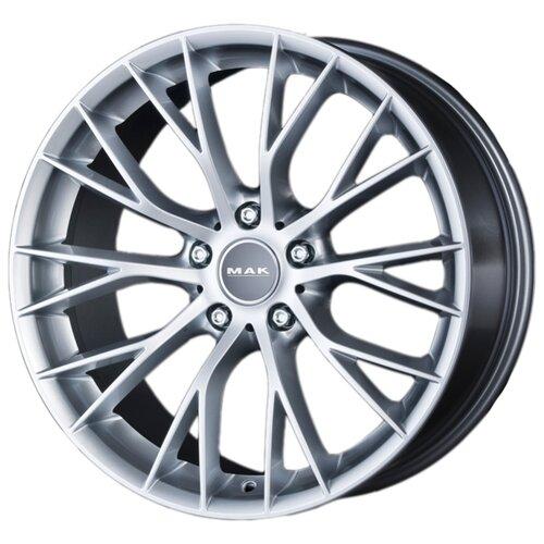 Фото - Колесный диск Mak Munchen 8х18/5х120 D72.6 ET43, silver колесный диск rial x10 8х18 5х120 d72 6 et34 polar silver