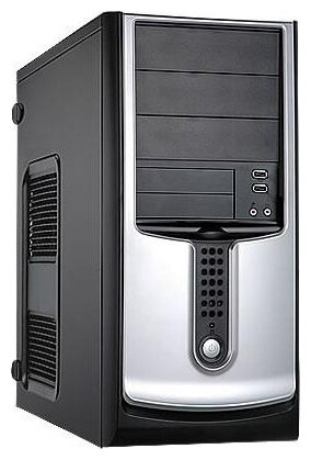 Компьютерный корпус IN WIN S564 350W Black/silver