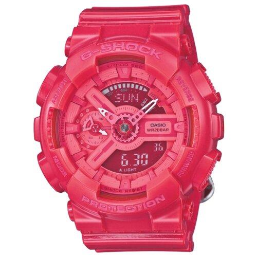 цена Наручные часы CASIO GMA-S110CC-4A онлайн в 2017 году