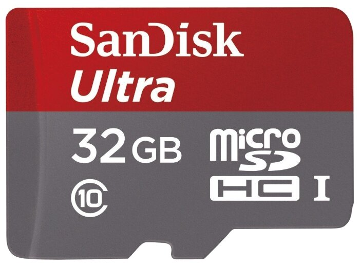 SanDisk Ultra microSDHC Class 10 UHS-I 48MB/s + SD adapter