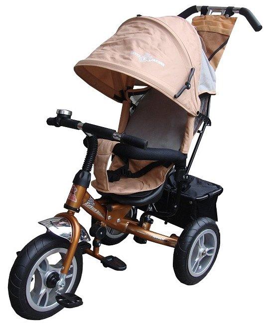 Детские трехколесные велосипеды Parusok YLT6588-B_GREEN