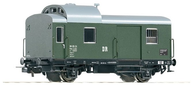 PIKO Багажный вагон Pwg88, серия Classic-Professional, 53235, H0 (1:87)