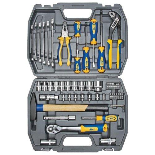 Набор инструментов KRAFT (56 предм.) KT 700303 набор инструментов kraft professional с сумкой 23 предметов