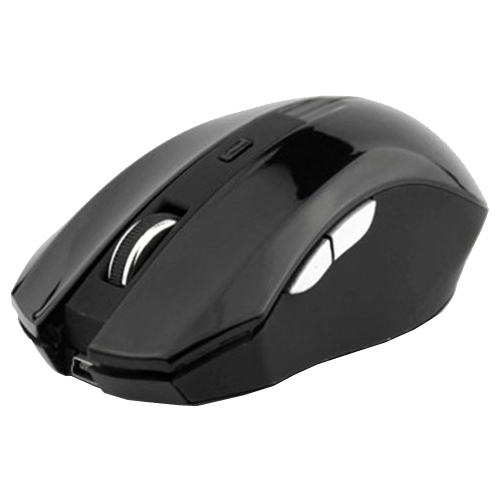 Мышь DeTech DE-7031W Wireless 6D Optical Mouse Black USB