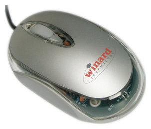 Мышь Codegen SuperPower M-1018 Silver PS/2