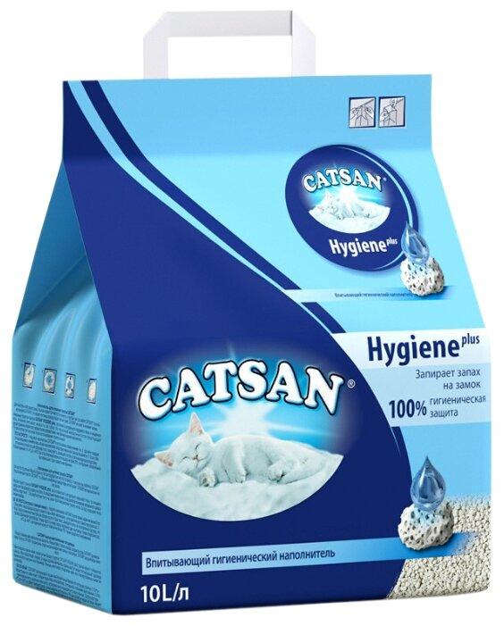 Наполнитель Catsan Hygiene впитывающий для кошек (10 л.)