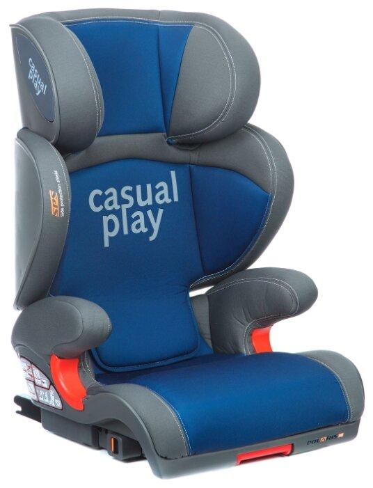 Автокресло группа 2/3 (15-36 кг) CasualPlay Polaris Fix