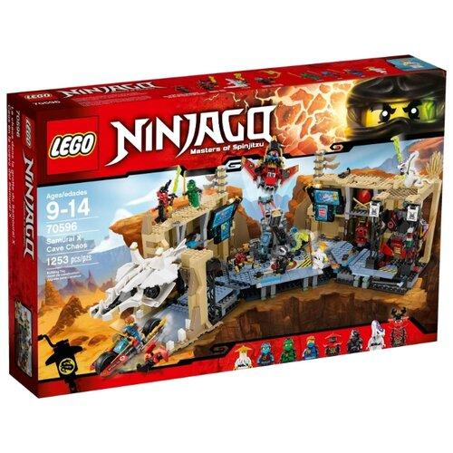 Конструктор LEGO Ninjago 70596 Пещерный хаос Самурая ИксКонструкторы<br>