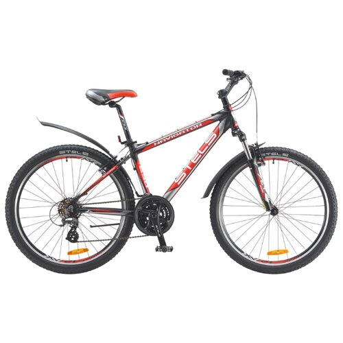 Горный (MTB) велосипед STELS Navigator 630 V 26 (2016) черный/серый/красный 21.5 (требует финальной сборки)