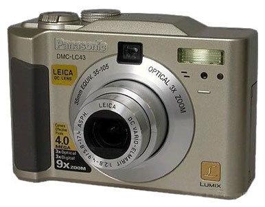 Фотоаппарат Panasonic Lumix DMC-LC43