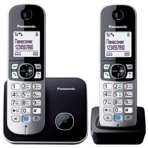 Радиотелефон Panasonic KX-TG6812 черный
