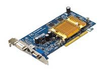 GIGABYTE Radeon 9600 Pro 400Mhz AGP 256Mb 600Mhz 128 bit DVI TV Silent