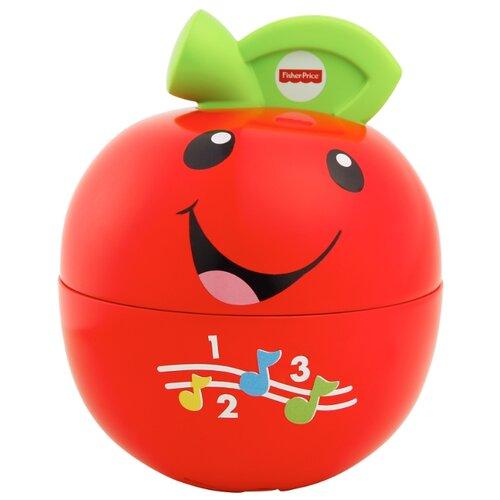 Купить Интерактивная развивающая игрушка Fisher-Price Смейся и учись. Обучающее яблочко красный, Развивающие игрушки