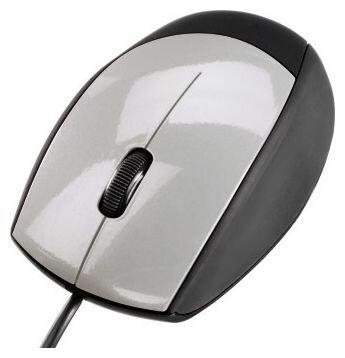 Мышь HAMA M368 Optical Mouse Black-Silver USB