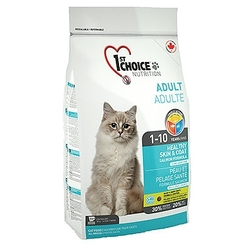 Корм для кошек 1st Choice HEALTHY SKIN and COAT for ADULT CATS
