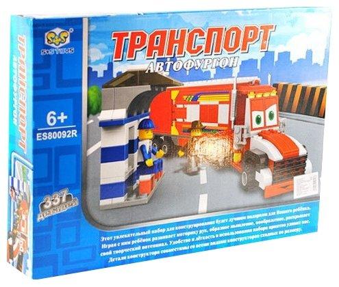 Конструктор S+S Toys Транспорт ES80092R Автофургон