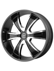 American Racing 8,5x20/5x114,3*5x127 ET35 D72,62 AR894 Black/Machined - фото 1