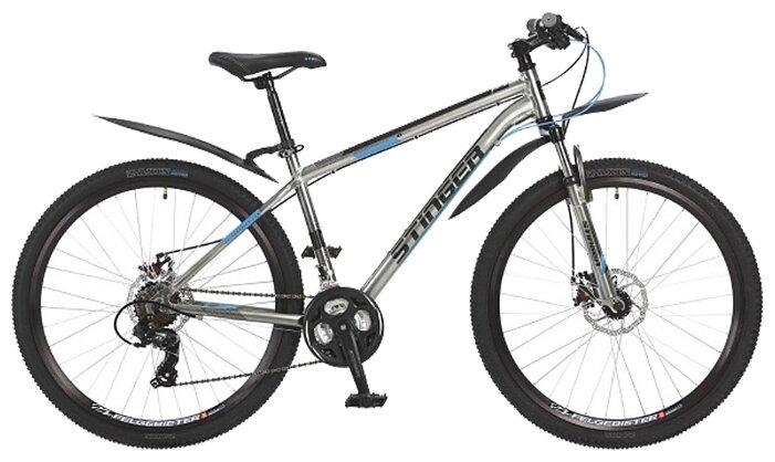 Горный (MTB) велосипед Stinger Graphite D 27.5 (2017) серый 16