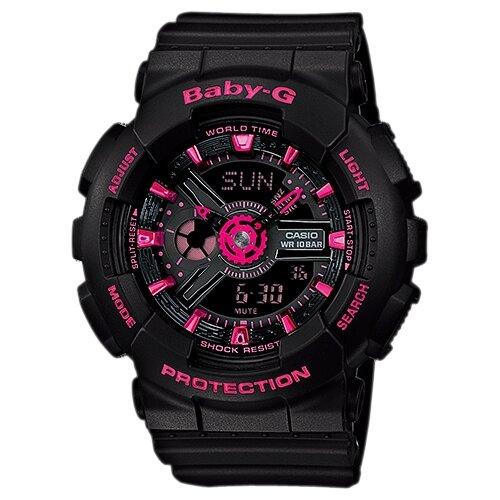 Фото - Наручные часы CASIO BA-111-1A женские часы casio ba 111 1a