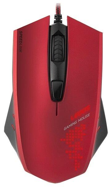 Мышь игровая Speedlink LEDOS, Red