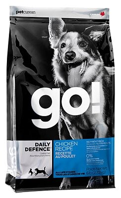 GO! (11.35 кг) Daily Defence Chicken Dog Recipe