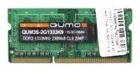Оперативная память Qumo DDR3 1333 SO-DIMM 8Gb