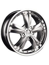 Диски Racing Wheels H-302 7,0x17 4x108 D65.1 ET25 цвет Chrome - фото 1