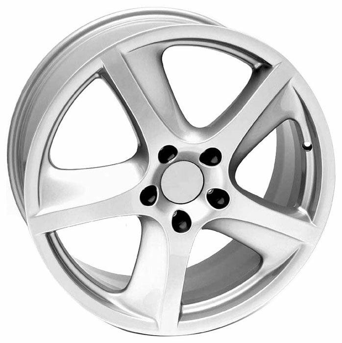 1. Колесные диски WSP Italy CAYENNE 10х22 5/130 ET50 71,6 SILVER