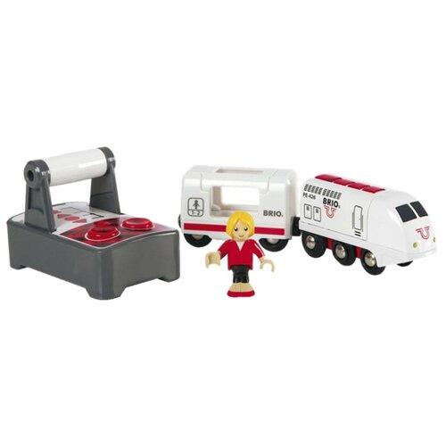 Купить Brio Поездной состав на радиоуправлении, 33510, Наборы, локомотивы, вагоны