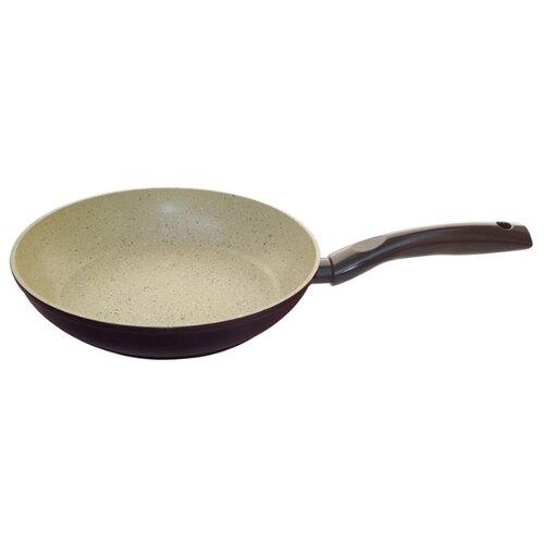 Сковорода Mallony MP-26 26см, бежевый/коричневый сковорода mallony mp 20 20cm 2100