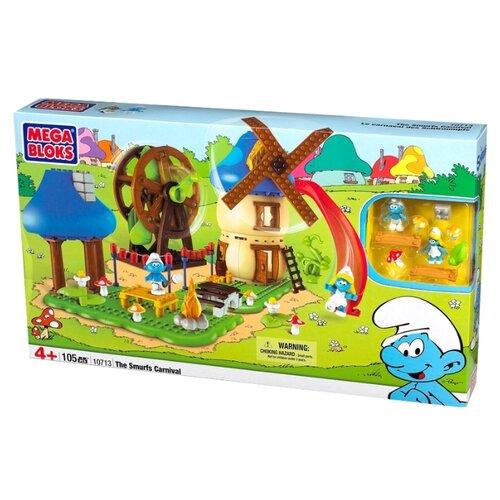 Купить Конструктор Mega Bloks Smurfs 10713 Ярмарка, Конструкторы