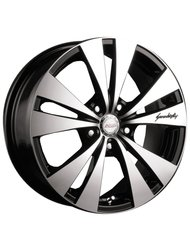 Racing Wheels H-364 6.5x15 4x98 ET 35 Dia 58.6 BK F/P - фото 1