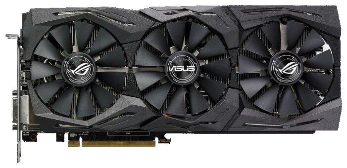 Видеокарта ASUS Radeon RX 580 1411MHz PCI-E 3.0 8192MB 8000MHz 256 bit DVI 2xHDMI HDCP Strix Top Gaming
